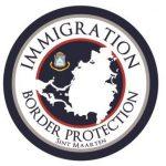 Immigration border protection logo