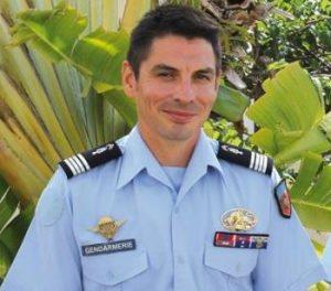 Gendarmerie Commandant Sébastien Manzoni Photo Le Pelican
