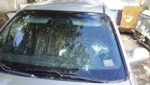 This destruction on Gabriel car was done by Nacauri families